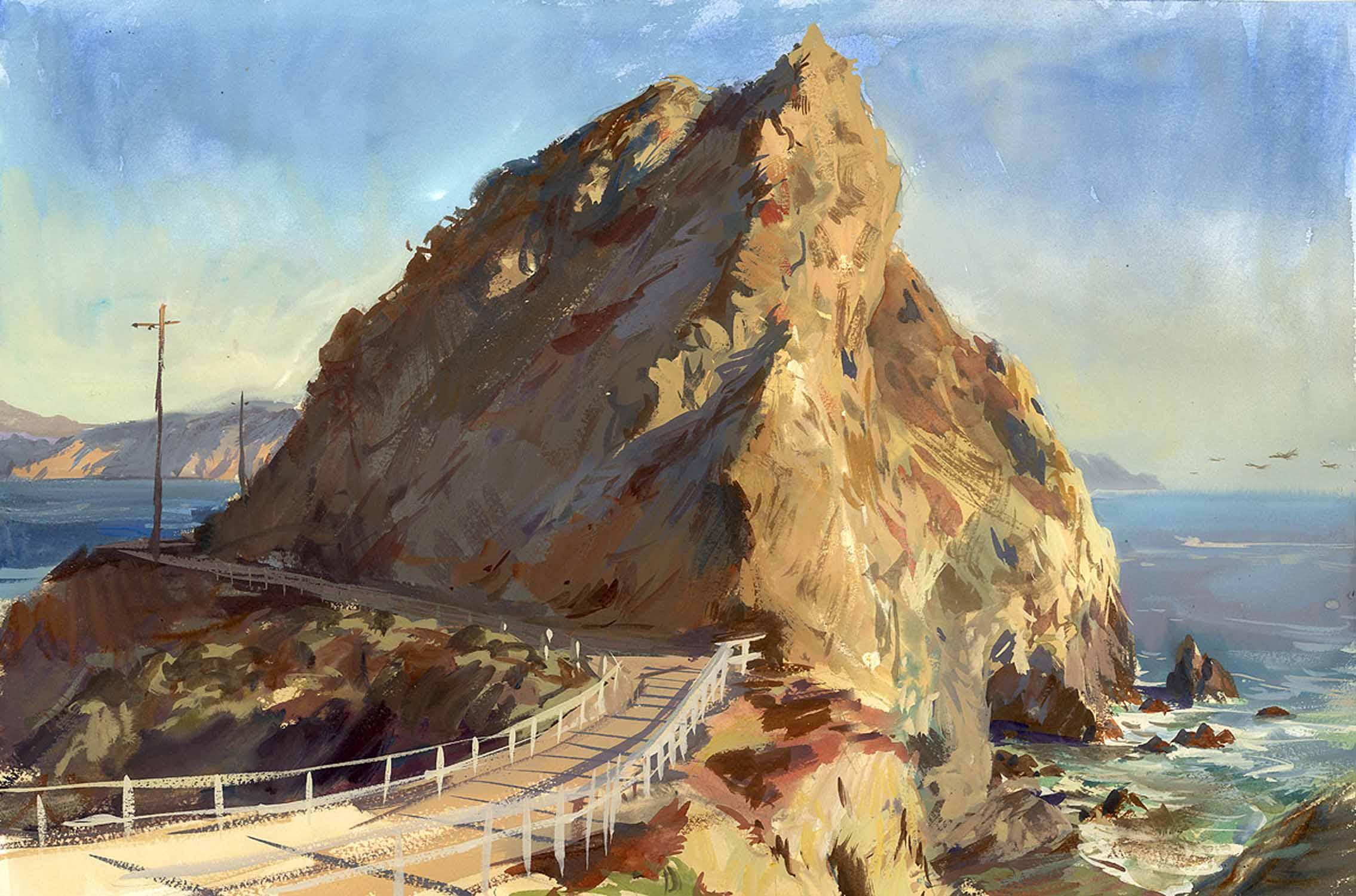 Point Bonita Rock